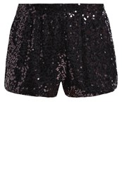 Evenandodd Shorts Black Silver