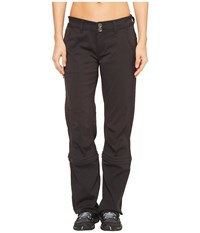 Prana Halle Convertible Pants Black Women's Casual Pants