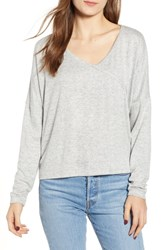 Roxy Your Time Low Back Top Heritage Heather