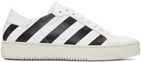 Off White Classic Diagonal Sneakers
