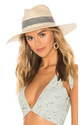 Hat Attack Gingham Inset Sunhat Tan
