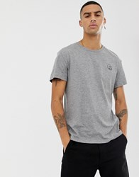 Cheap Monday Small Logo T Shirt In Grey