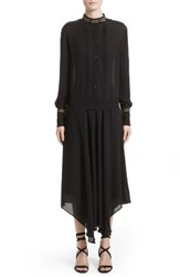 Belstaff Women's Mareena Silk Dress Black