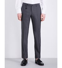 Slowear Slim Fit Super 130S Trousers Grey