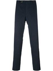Pt01 Super Slim Fit Chino Trousers Blue