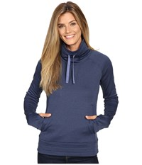 Columbia Saturday Trail Pullover Top Bluebell Heather Women's Clothing