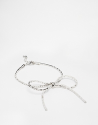 Cheap Monday Bow Bracelet Silver