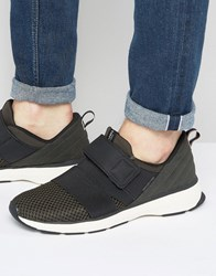 Jack And Jones Arton Strap Mesh Trainers Black
