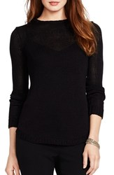 Women's Lauren Ralph Lauren Crewneck Sweater Black