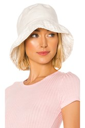 Hat Attack Washed Linen Crusher Ivory