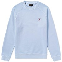 Barbour Pike Crew Sweat Blue