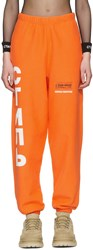 Heron Preston Orange Ctnmb Tracksuit Sweatpants