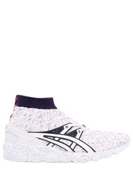 Asics Gel Kayano Knit High Top Sneakers White