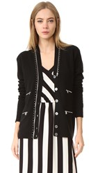 Marc Jacobs Long Sleeve Cardigan Black
