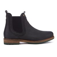 Barbour Men's Cullercoats Leather Chelsea Boots Black