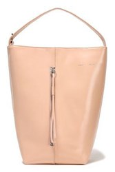 Kara Woman Leather Bucket Bag Blush