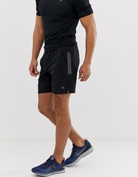 Calvin Klein Performance Reflective Detail Shorts In Black Suit 2