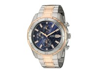 Guess U0746g1 Rose Gold Blue Watches