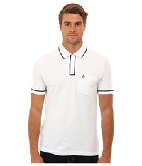 Original Penguin Earl Polo Bright White Men's Short Sleeve Pullover
