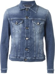 Jacob Cohen Classic Denim Jacket Blue