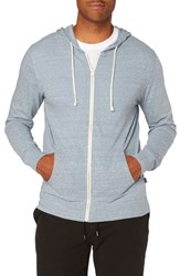 Threads For Thought Giulio Zip Hoodie China Blue