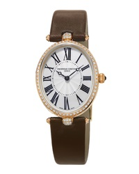 Ladies' Classics Art Deco Rose Gold Diamond Watch Frederique Constant