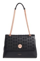 Ted Baker London Leather Shoulder Bag Black