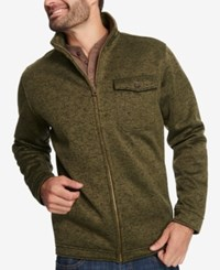 Weatherproof Vintage Men's Aqua Shed Full Zip Jacket Created For Macy's Green