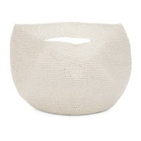 Lauren Manoogian White Bowl Tote