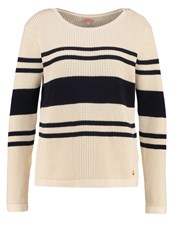 Armor Lux Jumper Nature Marine Deep Off White
