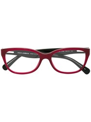 Dolce And Gabbana Oval Frame Glasses