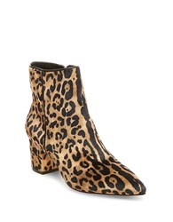 Steve Madden Bollie Leopard Print Ankle Boots