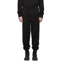 Y 3 Black Classic Cuffed Lounge Pants