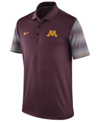 Nike Men's Minnesota Golden Gophers Early Season Coach Polo Shirt Maroon