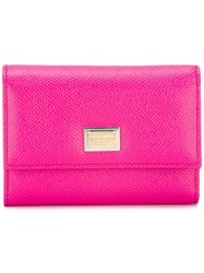 Dolce And Gabbana Dauphine Wallet Pink Purple