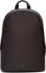 Paul Smith Brown Leather Backpack