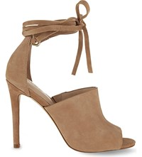 Aldo Zelia Leather Heeled Sandals Natural