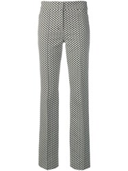 Dorothee Schumacher Micro Printed Trousers Black