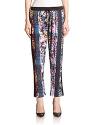 Clover Canyon Floral Print Drawstring Pants Multi