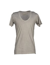 Happiness Topwear T Shirts Men Dove Grey