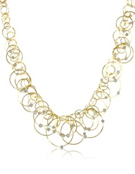 Orlando Orlandini Scintille Anniversary Diamond 18K Yellow Gold Necklace