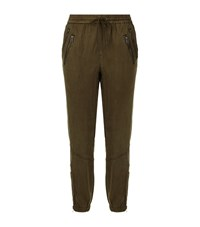 Pam And Gela Cargo Joggers Female Green