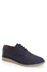 Toms 'Brogue' Wingtip Men Navy