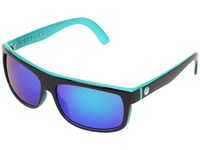 Dragon Alliance Wormser Jet Teal Green Ion Sport Sunglasses Black