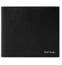 Paul Smith Textured Leather Billfold Wallet Black