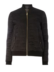 Dorothy Perkins Lightweight Quilted Bomber Jacket Black
