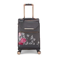 Ted Baker Albany Softside 4 Wheel Suitcase Grey Multi Grey