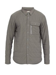 Snow Peak Quilted Jersey Shirt Grey