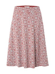 White Stuff Rosewood Jersey Skirt Red