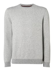 Linea Men's Mende Grindle Crew Neck Sweat Grey